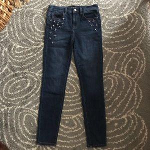 Ann Taylor Embellished Jeans